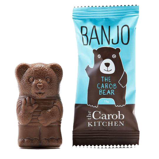Healthy Snacks NZ - The Carob Kitchen, Carob Bear, 15g - Buy Online