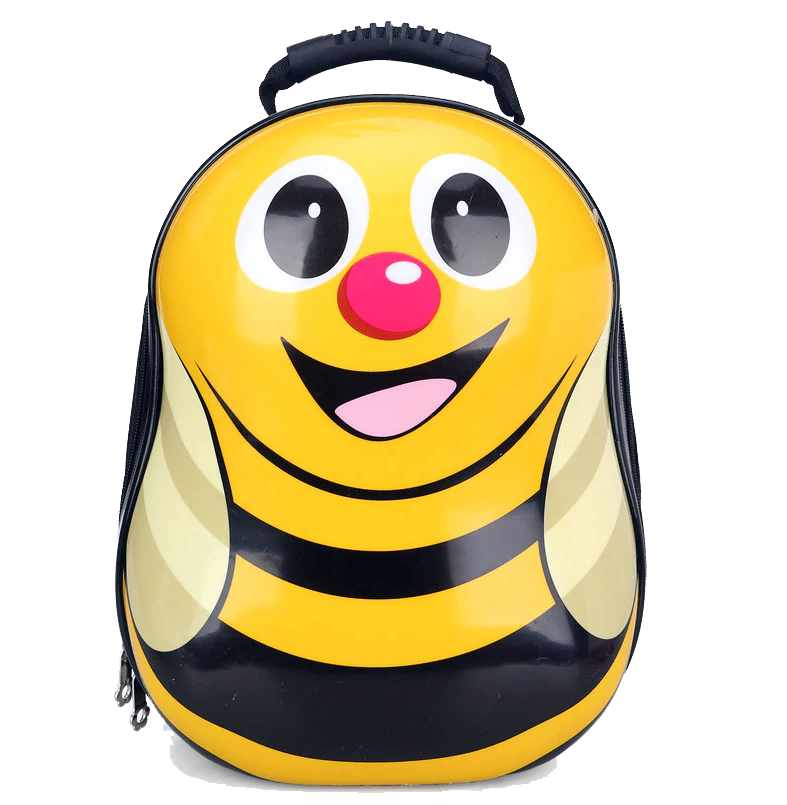 Kids Hard-shell Backpack, Honey Bee - Healthy Snacks NZ
