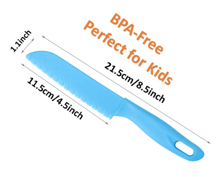 Kids Safe Knives - Multiply Colours - Healthy Snacks NZ - Fast Shipping