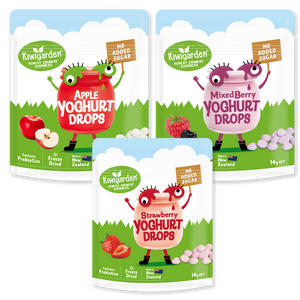 Kiwigarden, No Added Sugar Yoghurt Drops, 14g - Healthy Snacks NZ