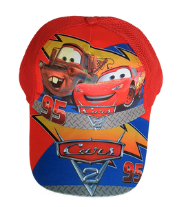 Cars Lightning McQueen - Kids Sun Baseball hat - Healthy Snacks NZ