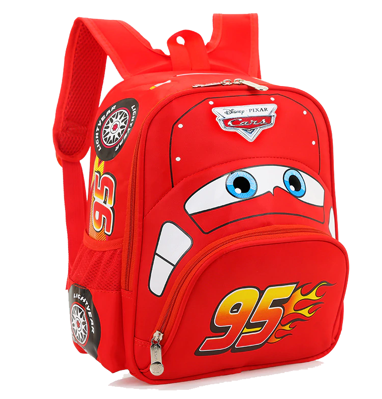 Kids Backpack, Lightning McQueen - Healthy Snacks NZ