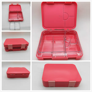 Maxi Leakproof Bento 6 Lunch box Pink - Healthy Snacks NZ - Order Online