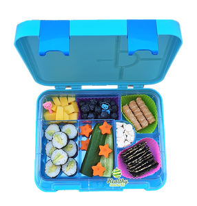 Maxi Leakproof Bento 6 Lunchbox Blue - Healthy Snacks NZ - Order Online