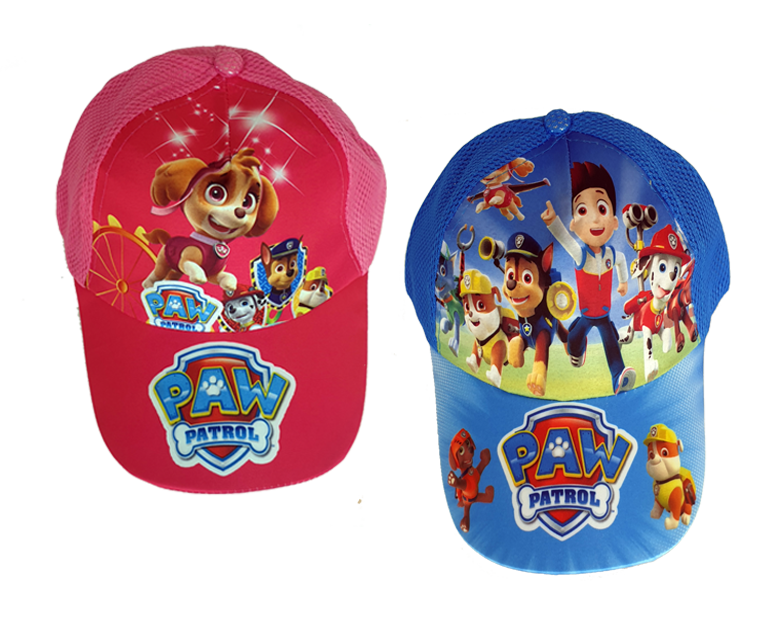 Paw Patrol Ryder & Skye - Kids Baseball Caps - Healthy Snacks NZ