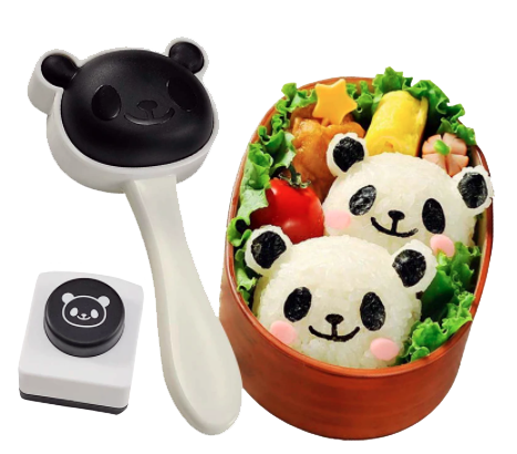 Onigiri Rice Mould Kit, Panda - Healthy Snacks NZ