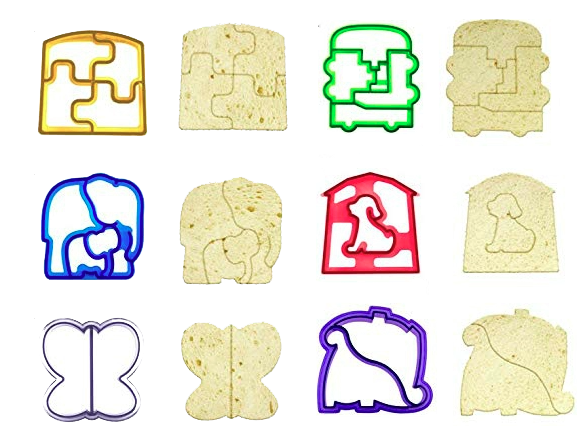 Sandwich/Cookie Cutters - Multiply Options - Healthy Snacks NZ - Buy Online