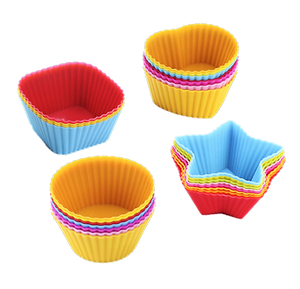 Silicone Food and Muffin Cups - Healthy Snacks NZ