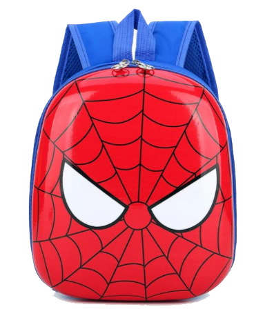 Kids Hard-shell Backpack, Spider-Man - Healthy Snacks NZ