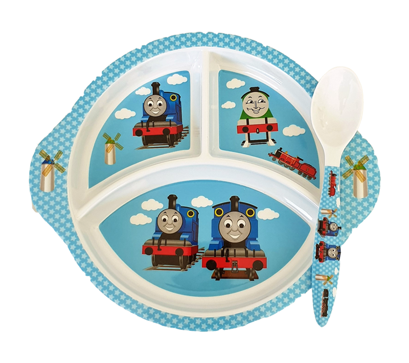 2pc Tableware Set, Thomas & Friends - Healthy Snacks NZ