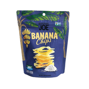 Banana Joe Chips, Sea Salt - Buy Online NZ - AfterPay - Healthy Snacks NZ