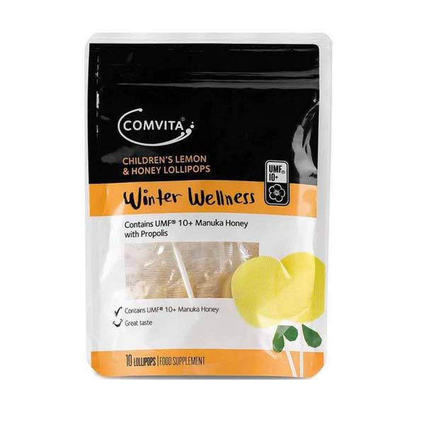 Comvita Children's Lemon and Honey Lollipops - Healthy Snacks NZ - Order Online