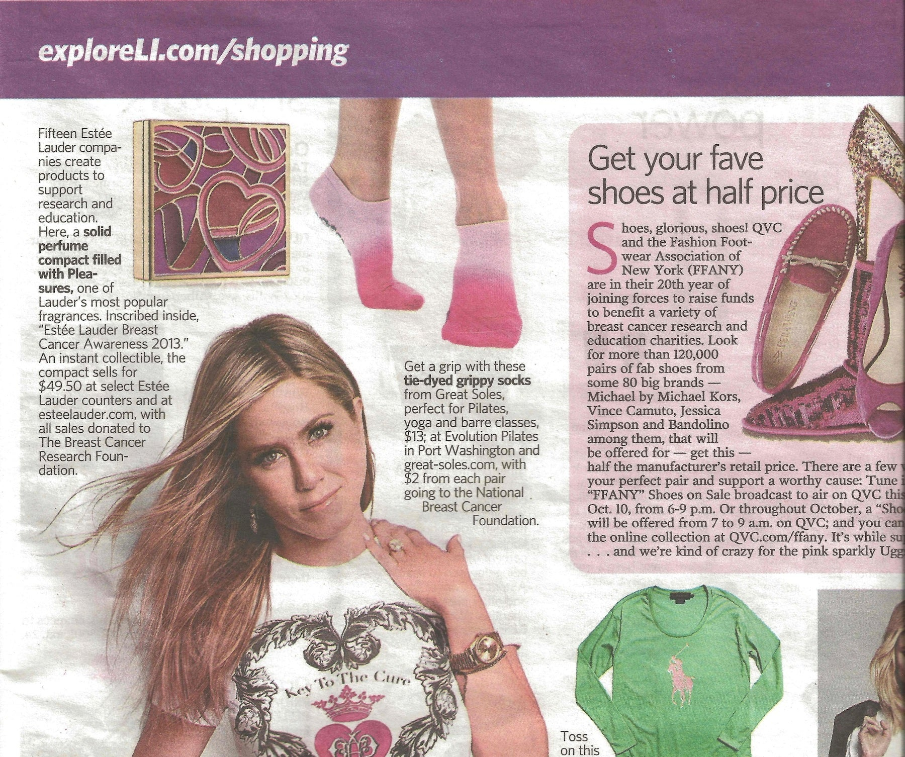 Rose Pink Coverage in Newsday