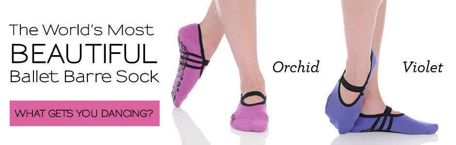 Ballet Barre Socks