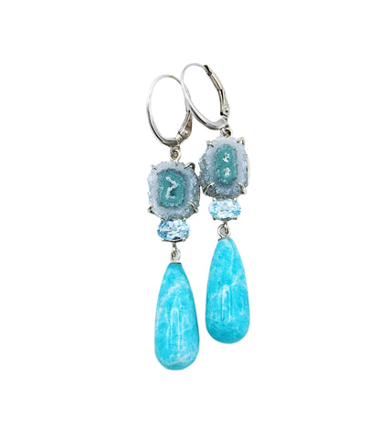 Dreaming in Teal Earrings
