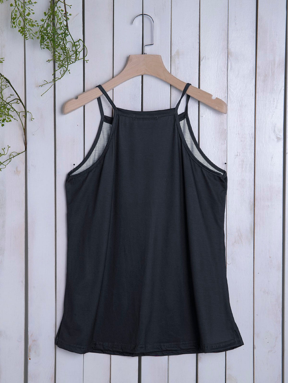Women's Casual Solid Abstract Sleeveless Vest&Tops
