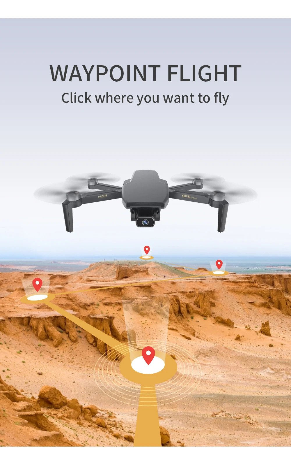 ZLL SG108 5G WIFI FPV GPS With 4K HD Camera Optical Flow Poaitioning Brushless Foldable RC Drone Quadcopter