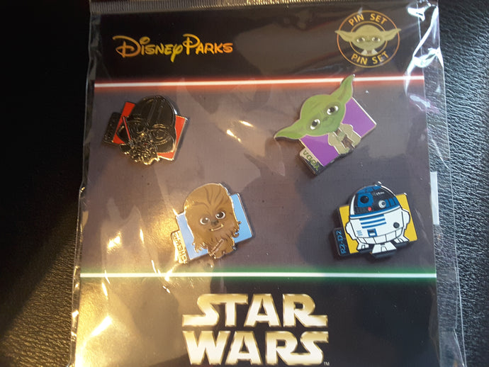 Star Wars 4 Pin Cutie Booster