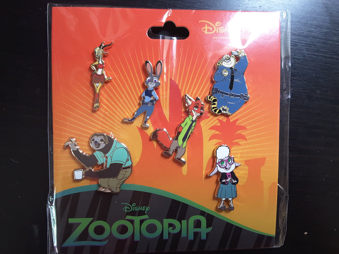 Zootopia 6 Pin Booster