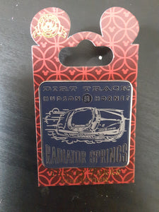 Dirt Track Hudson Hornet Radiator Springs Cars Pin New on Card