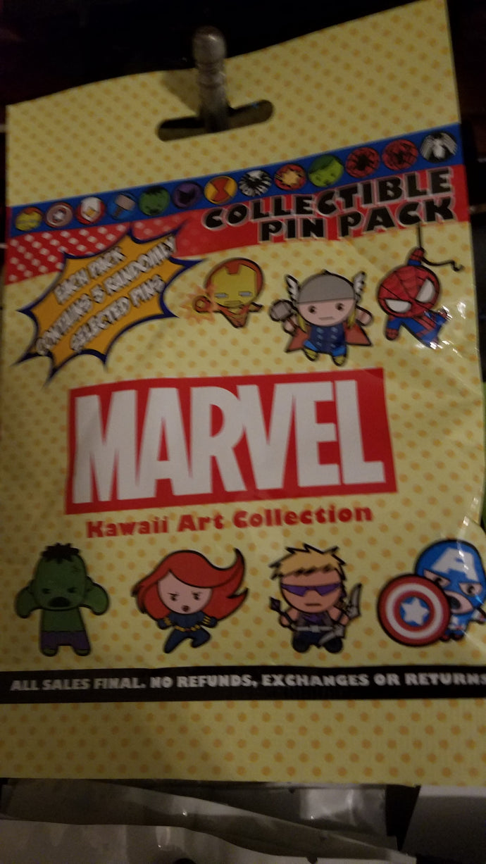 Marvel 5 Pin Mystery Bag