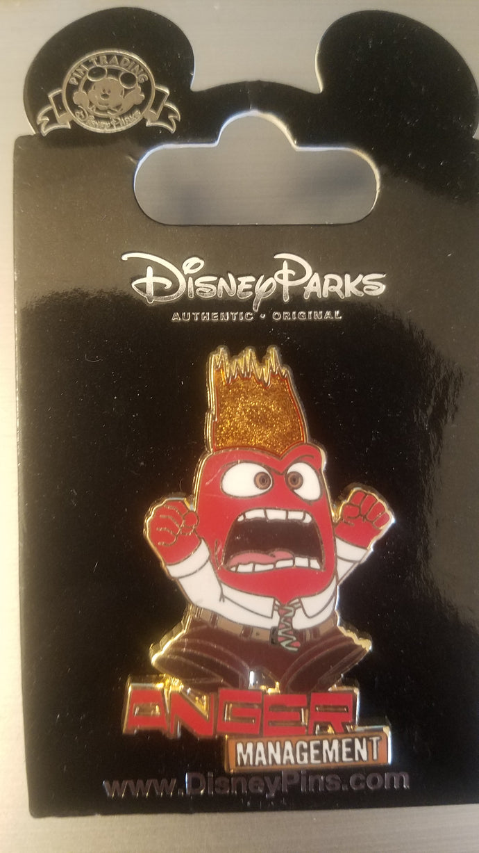 Anger Management from Inside Out Pin New on Card