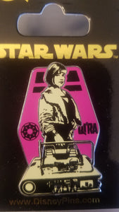 Qira from Star Wars Pin New on Card