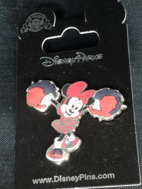 Cheerlead Minnie Mouse pin new on card