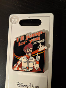 Duke Caboom Toy Story 4 Pin New on Card