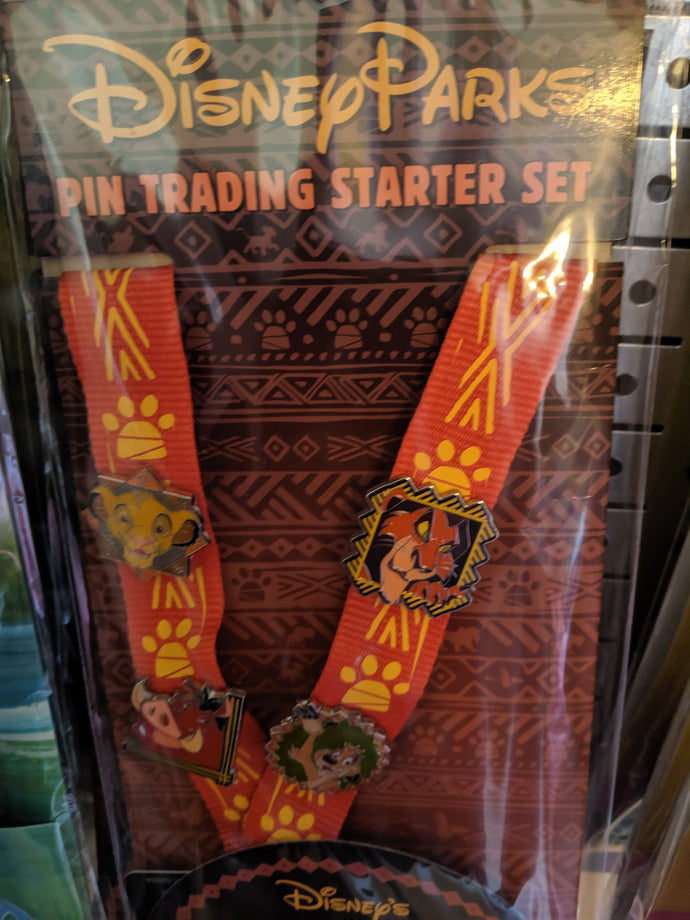 Lion King 4 Pin Starter Set