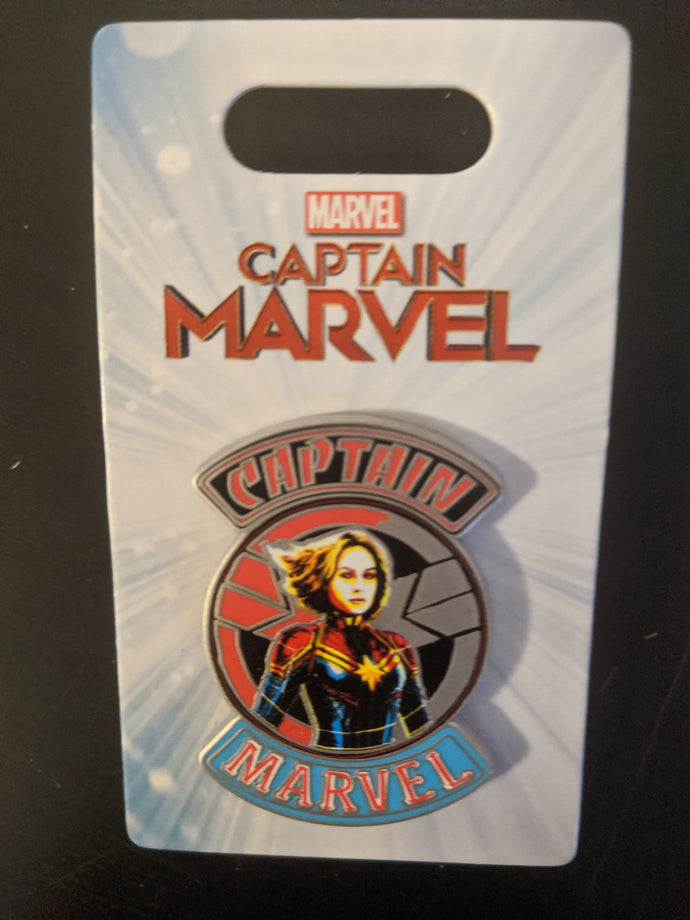 Captain Marvel from The Avengers Pin New on Card