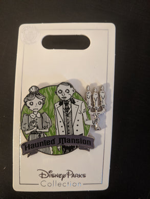 Haunted Mansion Pin New on Card
