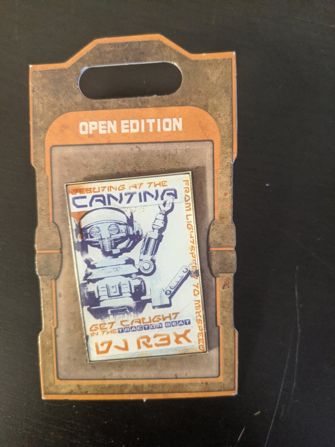 Star Wars Cantina Pin New on Card