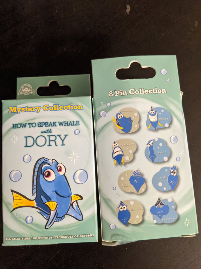 Dory How to Speak Whale Mystery Box