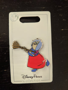 Mim from Sword in the Stone Pin New on Card