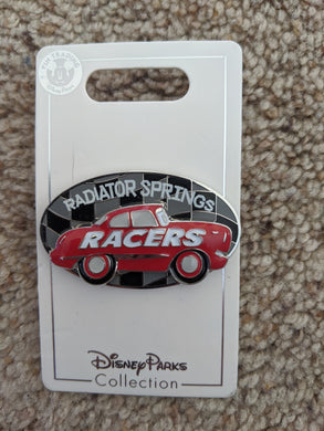 Cars Radiator Springs Racers Pin New on Card