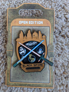 Star Wars Black Spire Outpost Pin New on Card