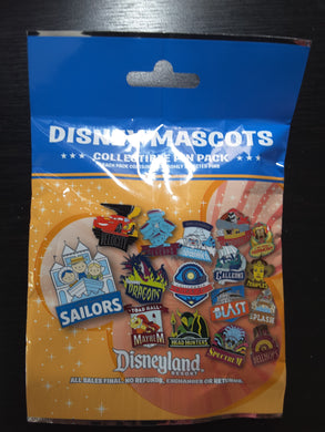 Disneyland Mascots 5 Pin Mystery Bag