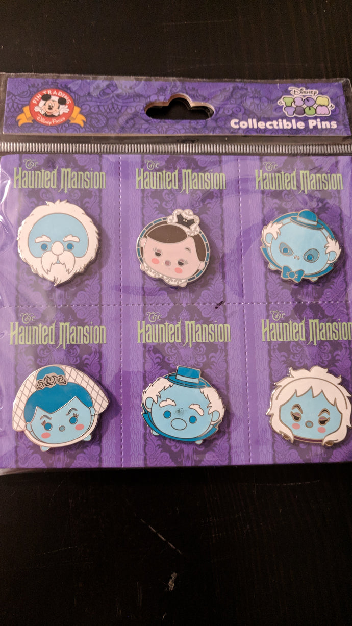 Haunted Mansion Tsum 6 Pin Booster New in Package