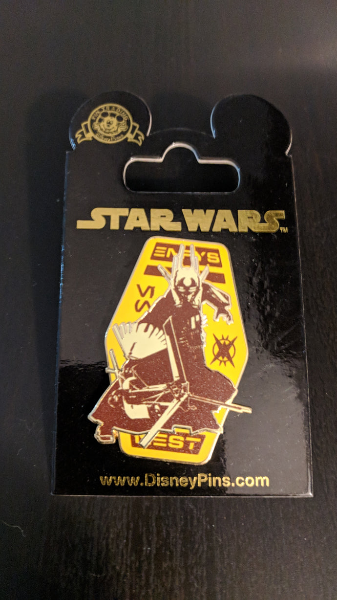 Star Wars Enfy's Nest Pin on Card