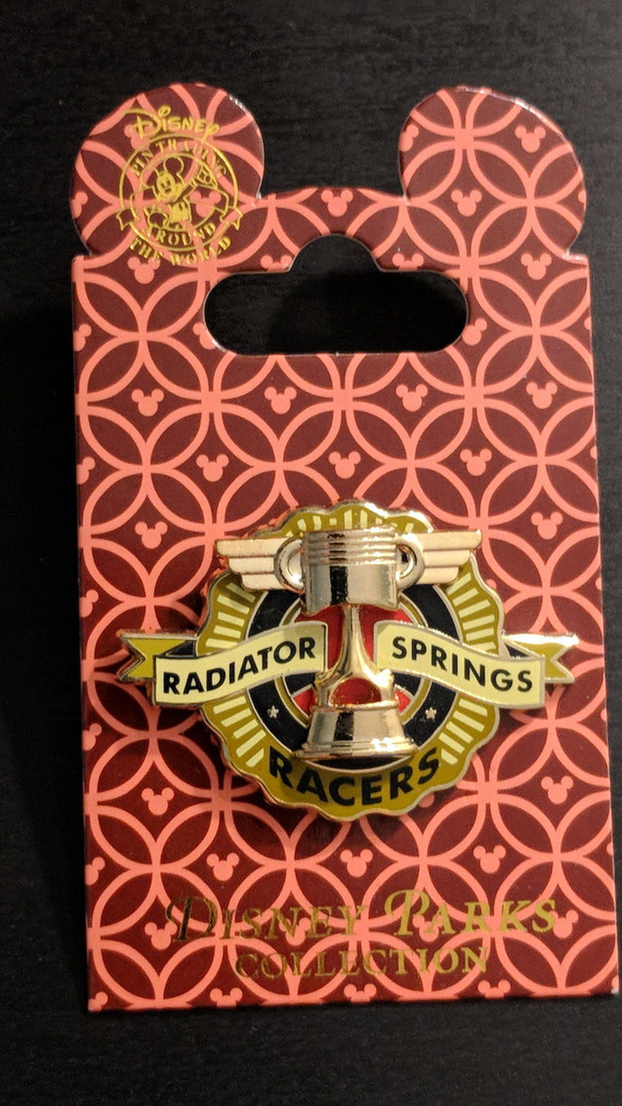 Radiator Springs Racers Pin from Cars New on Card