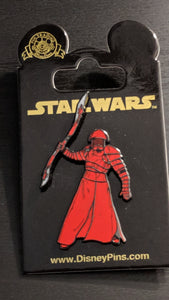 Star Wars Emperor's Guard Pin New on Card