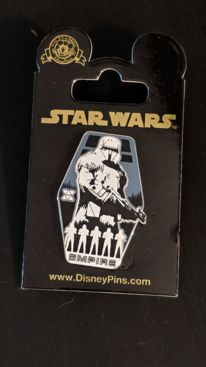 Star Wars Empire Storm Trooper Pin New on Card