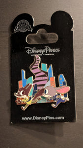Zootopia Pin New on Card