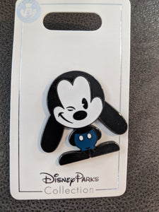 Winking Oswald Pin New on Card