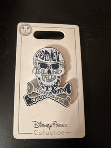 Walt Disney World Dead Men Tell No Tales Pin New on Card