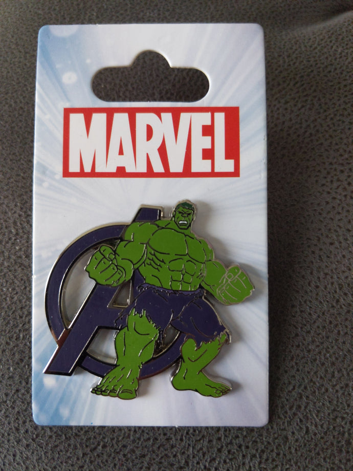Marvel Hulk Pin New on Card