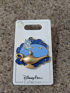 Genie with Lamp Pin New on Card