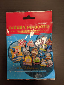 Walt Disney World Mascots 5 Pin Mystery Bag