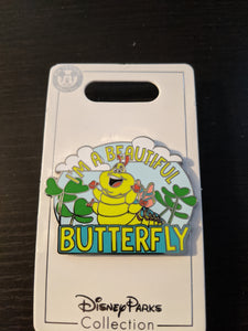 Heimlich I'm a Beautiful Butterfly Pin New on Card